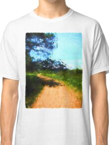 Path in a Park Classic T-Shirt