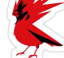 CD PROJEKT red vertical logo Sticker