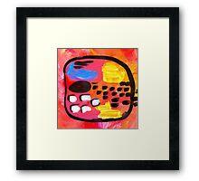 """FOOTPRINTS"" Framed Print"
