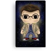 Dr Who Tennant Canvas Print