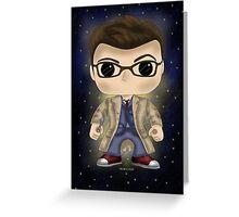 Dr Who Tennant Greeting Card