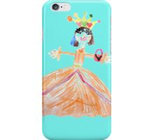 Princess And Her Cat iPhone Case/Skin