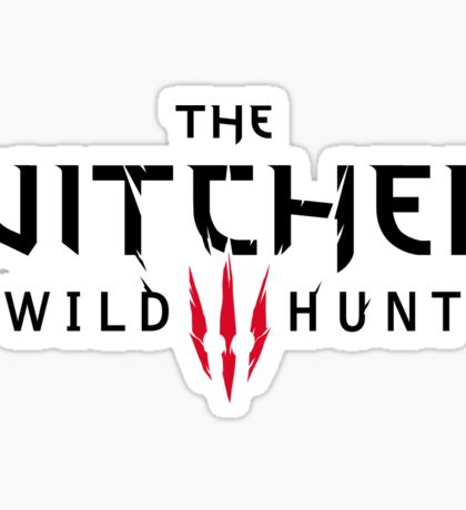 Witcher III logo Sticker