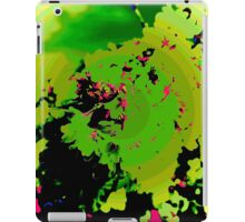 Abstract Spring Blossom, Green. iPad Case/Skin