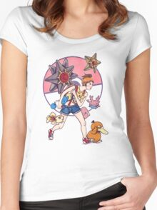 Misty to the rescue Women's Fitted Scoop T-Shirt