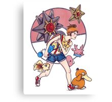 Misty to the rescue Canvas Print
