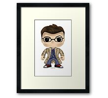 Dr Who Tennant Framed Print