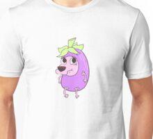 Eggplant Courage Unisex T-Shirt