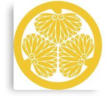 Tokugawa Crest Canvas Print