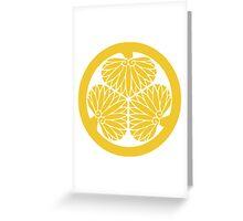 Tokugawa Crest Greeting Card
