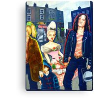 Camden Lock Canvas Print
