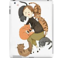 Love cat iPad Case/Skin