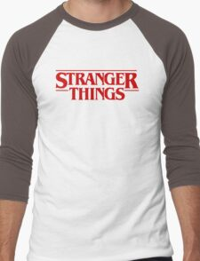 Stranger Things (2016) TV Series Men's Baseball ¾ T-Shirt