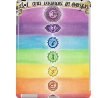 Chakra Healing iPad Case/Skin