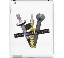 Who'd have sonic?! iPad Case/Skin