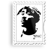 2pac Stamp Metal Print