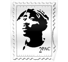 2pac Stamp Poster