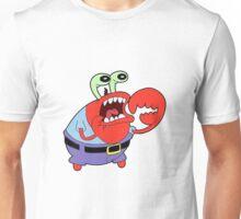 Choking Mr. Krabs Unisex T-Shirt