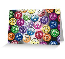 Pieces of Peace Greeting Card