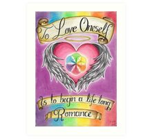 Love Oneself Art Print
