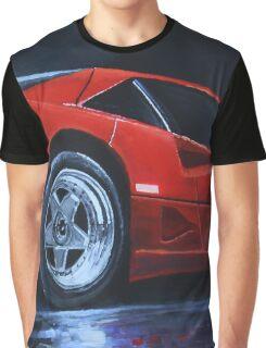 1990 Ferrari F40  Graphic T-Shirt