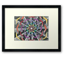 Tessellations  Framed Print