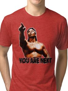 Bloodsport (1988) - You Are Next. Chong Li Tri-blend T-Shirt