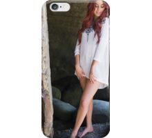 Beautiful blonde woman smiling on sunny summer  iPhone Case/Skin