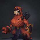 Demon Grunt by BitGem