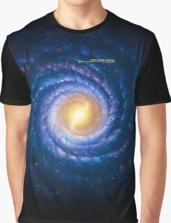 Milky Way - You Are Here Graphic T-Shirt