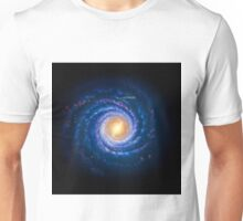 Milky Way - You Are Here Unisex T-Shirt