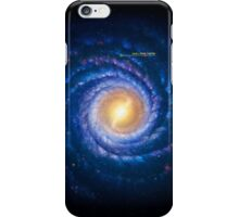 Milky Way - You Are Here iPhone Case/Skin