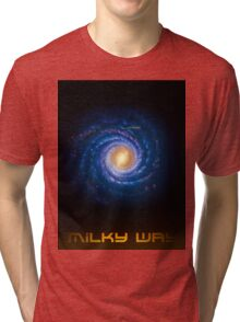 Milky Way - You Are Here - Version 2 Tri-blend T-Shirt