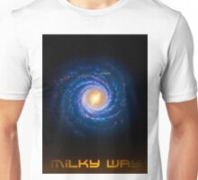 Milky Way - You Are Here - Version 2 Unisex T-Shirt