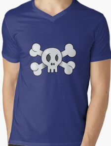 Jolly Roger Mens V-Neck T-Shirt