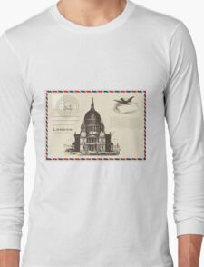 London Pos Long Sleeve T-Shirt