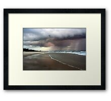Dreamtime Beach Afternoon ... Framed Print