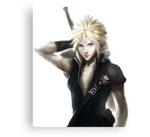 Cloud Strife Final Fantasy VII Advent Children Canvas Print