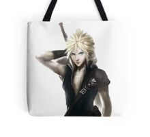 Cloud Strife Final Fantasy VII Advent Children Tote Bag