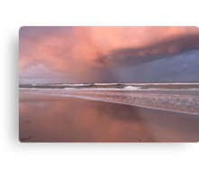 Storm over Kingscliff Beach  Metal Print