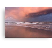 Storm over Kingscliff Beach  Canvas Print