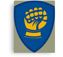 46th Infantry Division 'Ironfist' (United States) Canvas Print