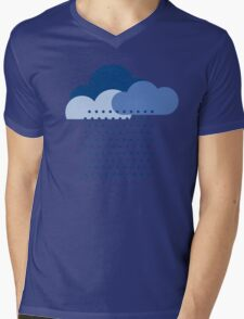 We love the rain! weather, cloud, water, autumn, spring, water, raindrop  Mens V-Neck T-Shirt