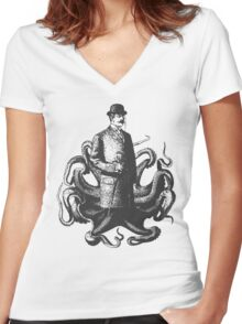 Lord Corin Thulhu  Women's Fitted V-Neck T-Shirt