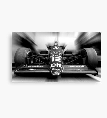 Ayrton Senna (Black & White) Canvas Print
