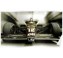 Ayrton Senna Poster