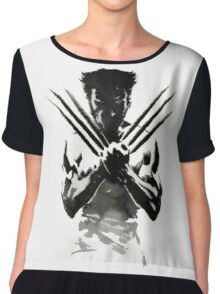 wolverine x-men Chiffon Top