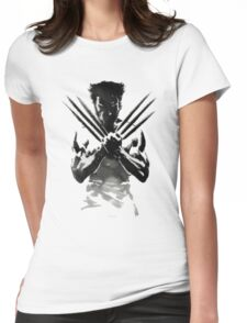 wolverine x-men Womens Fitted T-Shirt