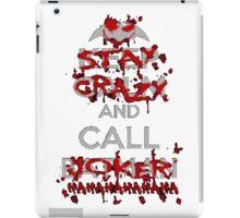 keep calm and call iPad Case/Skin