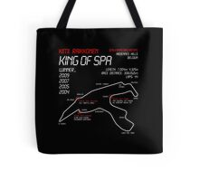 Kimi Raikkonen - King of Spa! Tote Bag